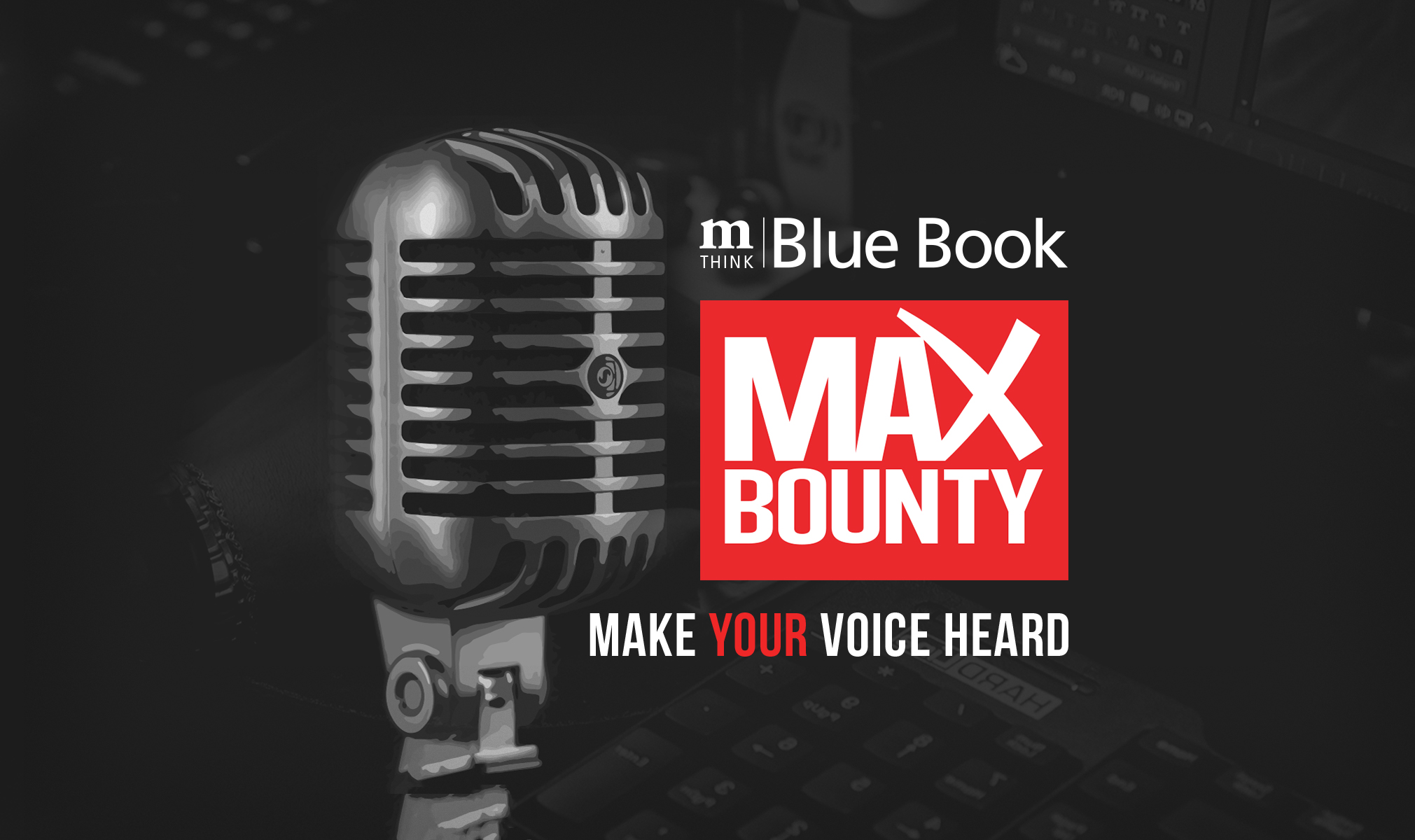 Vote MaxBounty #1 in mThink's 2019 BlueBook Top Network Survey