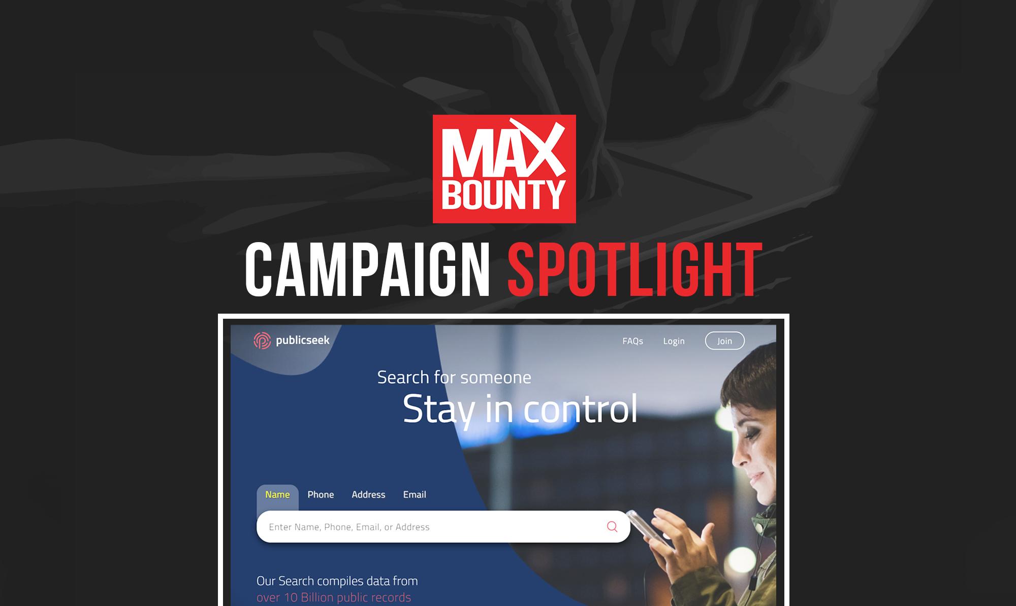 Campaign Spotlight: Publicseek Background Checks ($24 CPA)