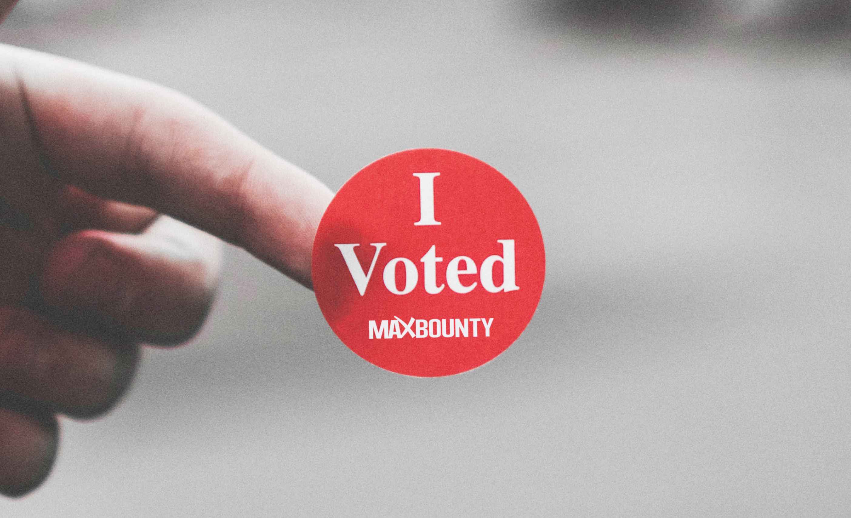 Watch: How to Vote for MaxBounty in Just 30 Seconds