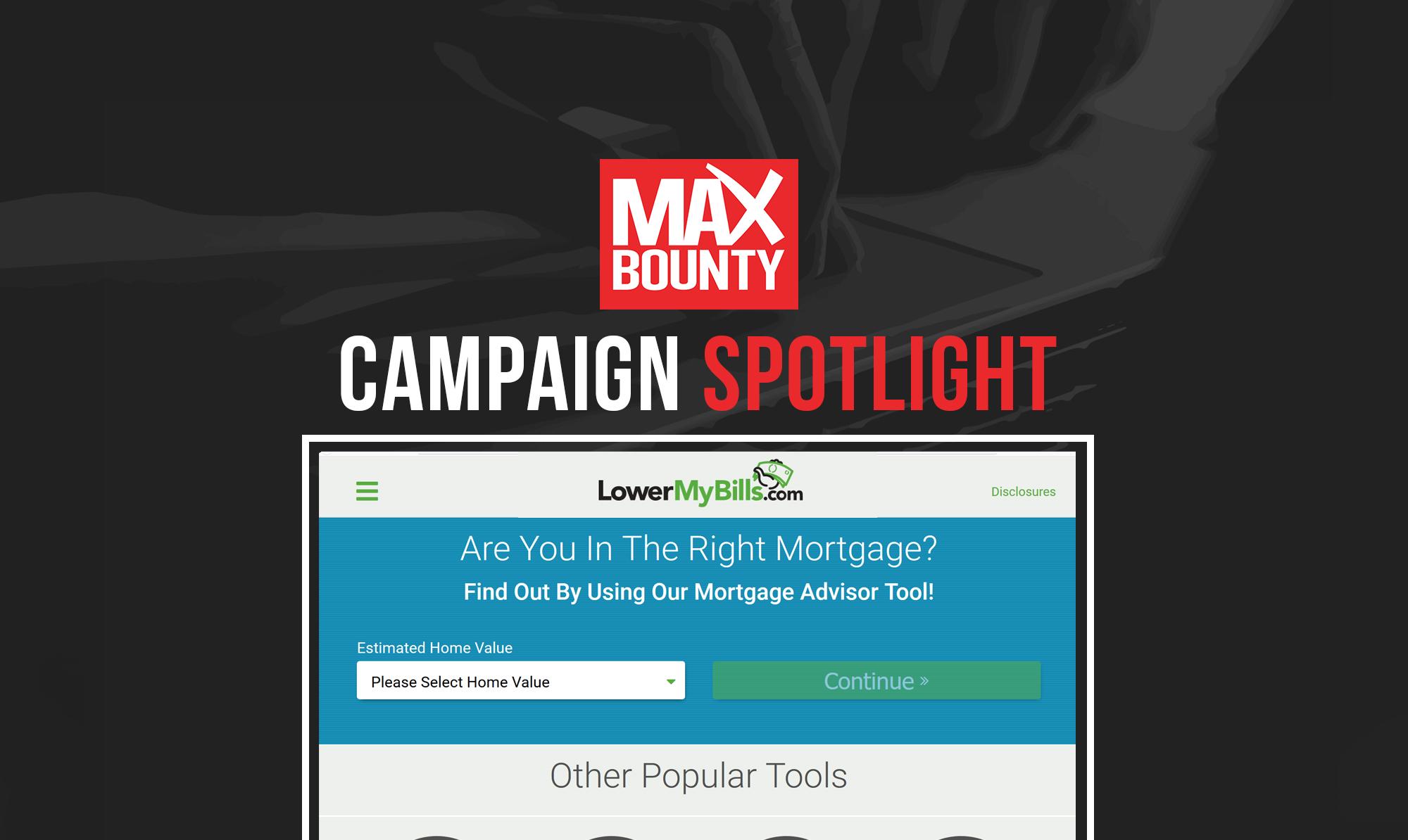 Campaign Spotlight: LowerMyBills.com ($19 CPA)