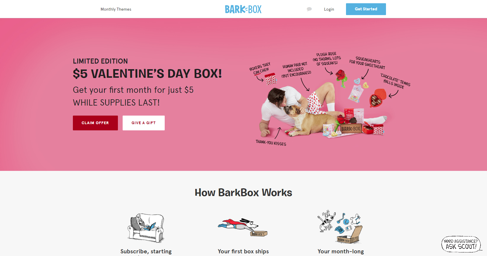 Double Promotions Bolster BarkBox Earning Potential in February