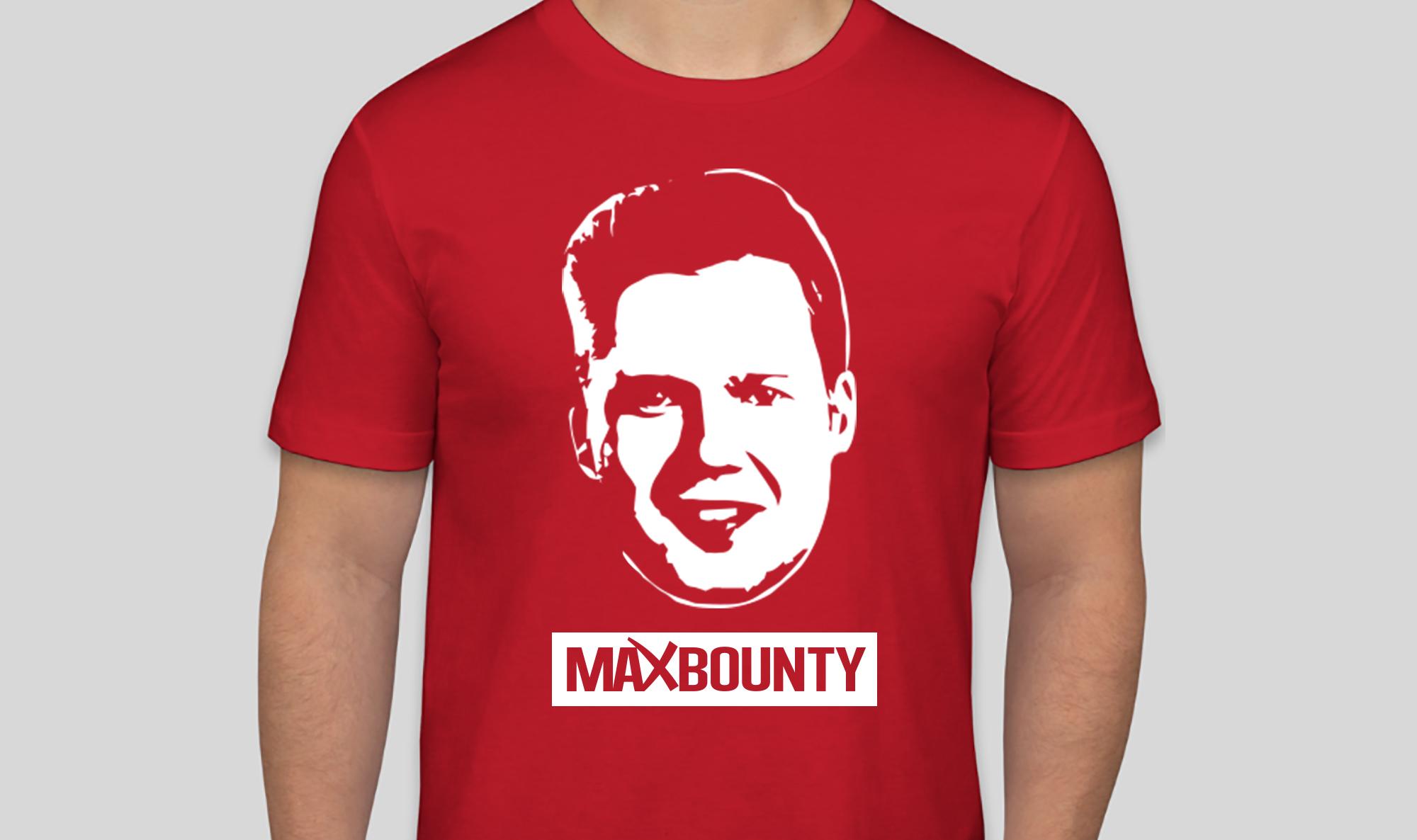 NEW MaxBounty Shirts Featuring CEO Matt McEvoy ON SALE NOW