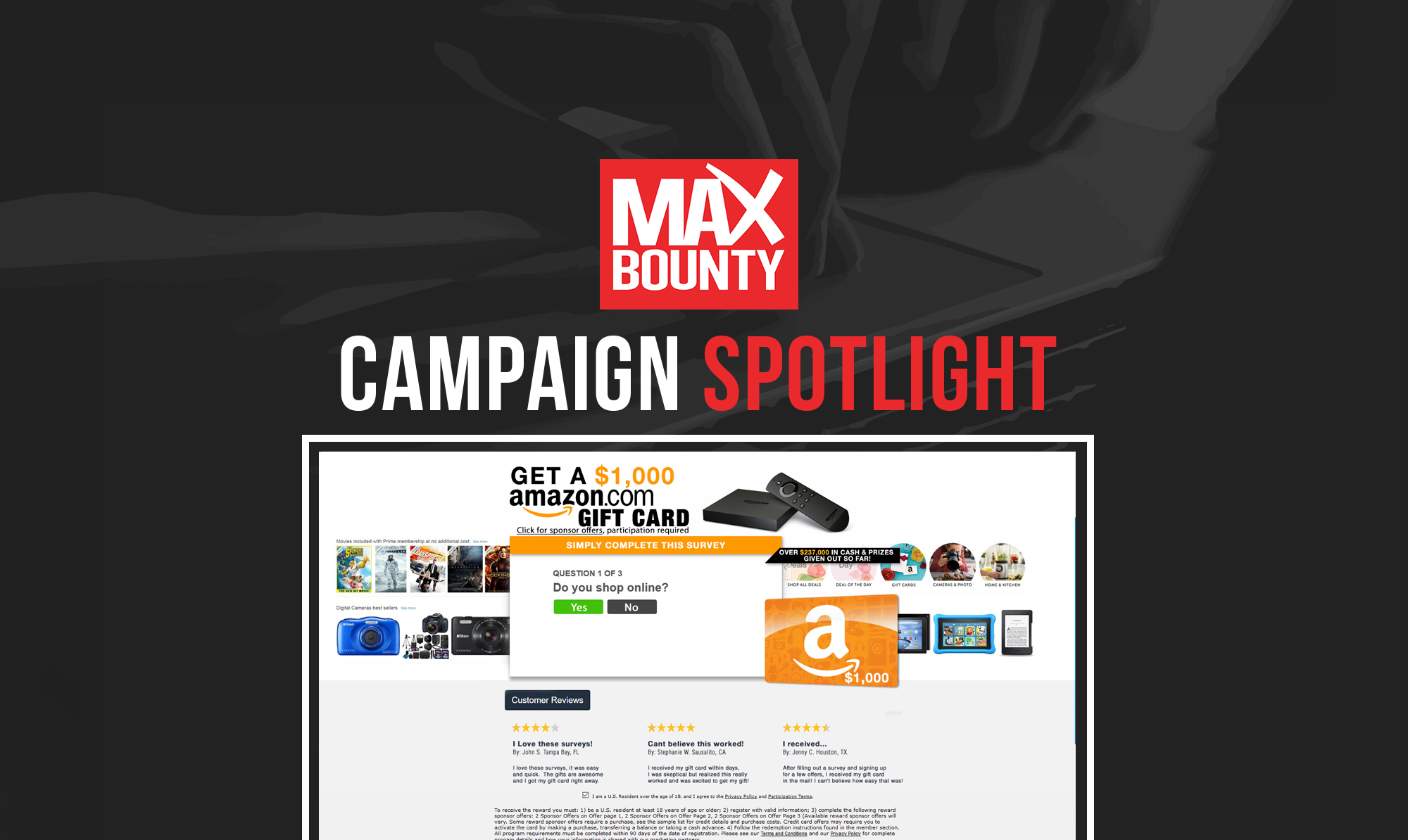 Campaign Spotlight: Essential Sweepstakes