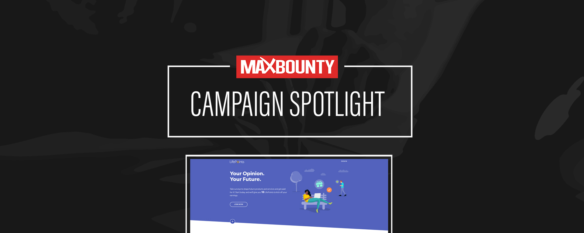 Campaign Spotlight: LifePoints ($3.75 CPA) Goes Active
